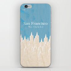 San Francisco TA iPhone & iPod Skin