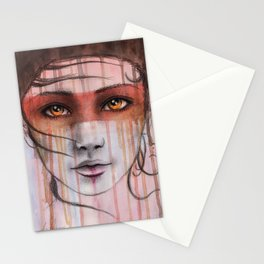 Amber Eyes Stationery Cards