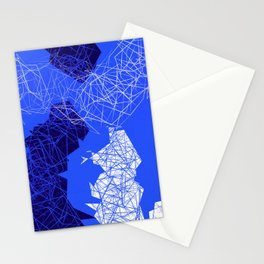 Geometric Movements Stationery Cards