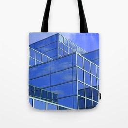 Sky Blue Mirror Tote Bag