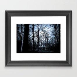 The Haunted Wood  Framed Art Print