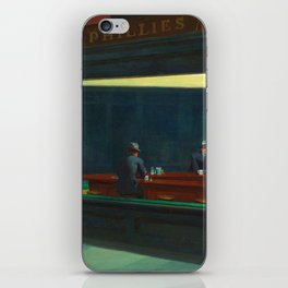 NIGHTHAWKS - EDWARD HOPPER iPhone Skin