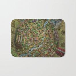 Astranella Map Bath Mat