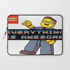 Kirby Krackle -Everything Is Awesome! (Lego style shirt) Laptop Sleeve