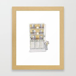 Kico's Old House Framed Art Print