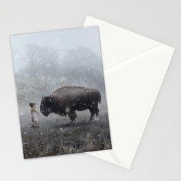 MeeTe Buffao Stationery Cards