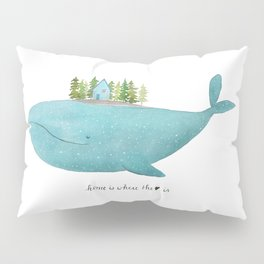Home is where the heart is Pillow Sham