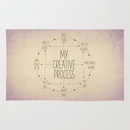 My Creative Process Rug