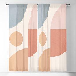 Minimal Geometric 96 Blackout Curtain