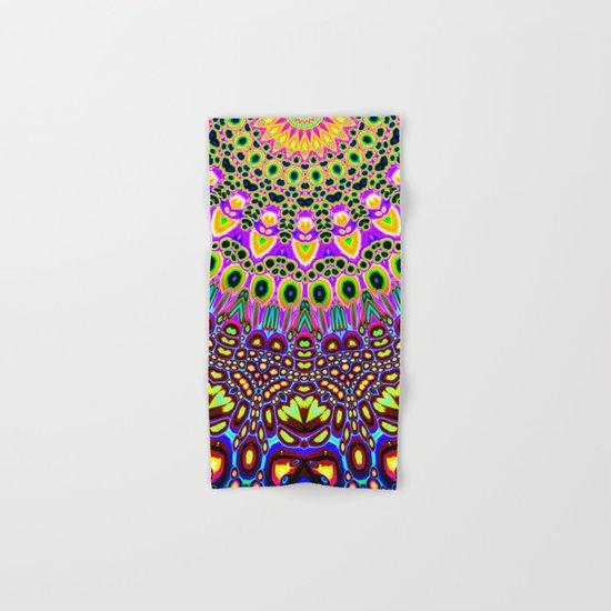 Vibrant Pop Art Pattern Hand & Bath Towel