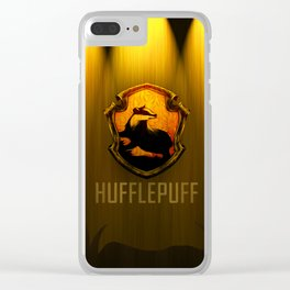 Hufflepuff Clear iPhone Case