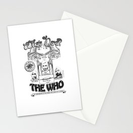 The Who Stationery Cards