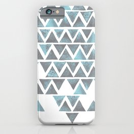 Duo-tone Triangle iPhone Case