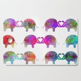 Elephant Soul Mate Cutting Board