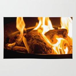 Lava Rock Fire - Campfire Vibes Rug