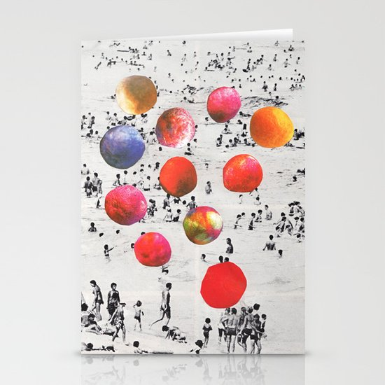 BEACH BALLS Stationery Cards