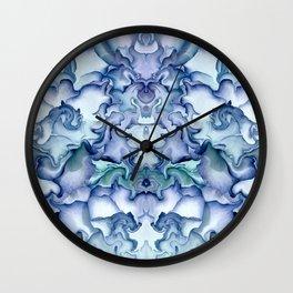 Elephant dance Wall Clock