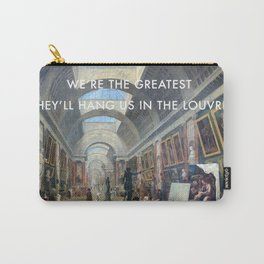 The Greatest in the Grande Galerie du Louvre Carry-All Pouch