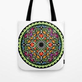 MANDALA MEDITATION PATTERN ZEN FLORAL Tote Bag