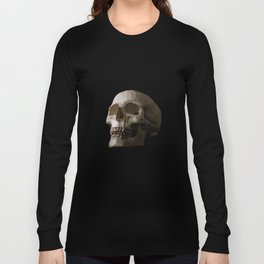 Polygon Skull Long Sleeve T-shirt