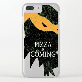 Michelangelo Coming Clear iPhone Case