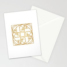 Golden Ropes Stationery Cards