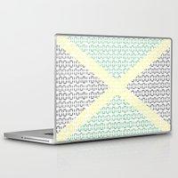 jamaica Laptop & iPad Skins featuring digital Flag (Jamaica) by seb mcnulty