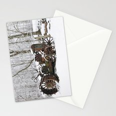 Steel and Snow Stationery Cards