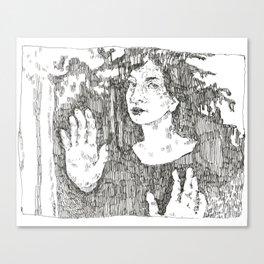 Portrait of Maya Deren Canvas Print