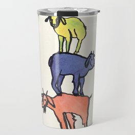 3 Billy Goats Up Travel Mug
