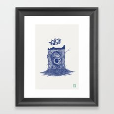 King of the Little Forrest Framed Art Print