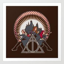 Dumbledore's Angels  Art Print