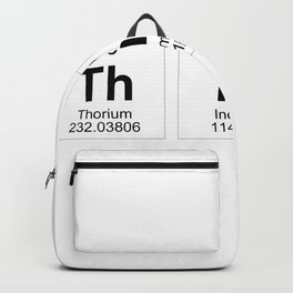 Think Periodic Table Backpack