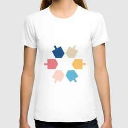 Dreidel Star of David T-shirt