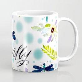 Dreaming Galaxies dragonfly Coffee Mug
