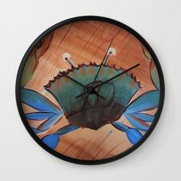 Georgia Blue Crab Wall Clock