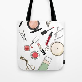 Beauty Routine Tote Bag