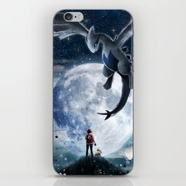 Legend of the moon iPhone Skin