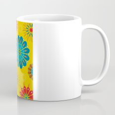 Psycho Flower Gold Mug