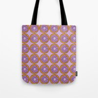 doughnut Tote Bags featuring doughnut by 1982 est. by A.W. Owens