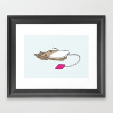 Life's a tea party II Framed Art Print