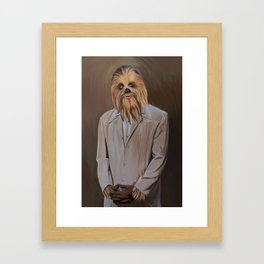 The Chewy Framed Art Print
