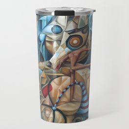 The Sea In The Fish Travel Mug