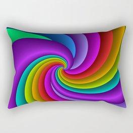 fluid -81- Rectangular Pillow