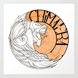 Logo Chimaera Art Print