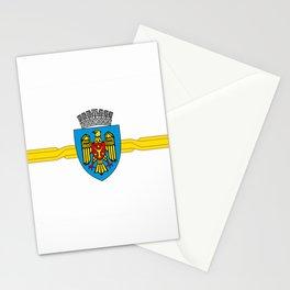 flag of Chisinau Stationery Cards