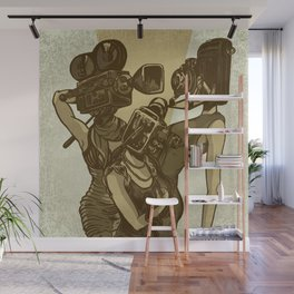 The Golden Age Wall Mural