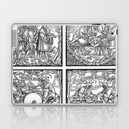 Depositing the Horns - Initiation Ritual Laptop & iPad Skin