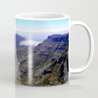 south africa Mugs featuring South Africa Impression 4 by Art-Motiva