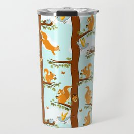 squirrel party Travel Mug